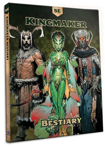 Pathfinder: Kingmaker Bestiary for 5E 160-page hardcover