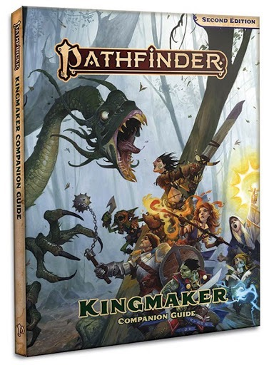 Pathfinder: Kingmaker Companion Guide 128-page hardcover