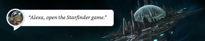 Amazon Alexa Starfinder Banner Image