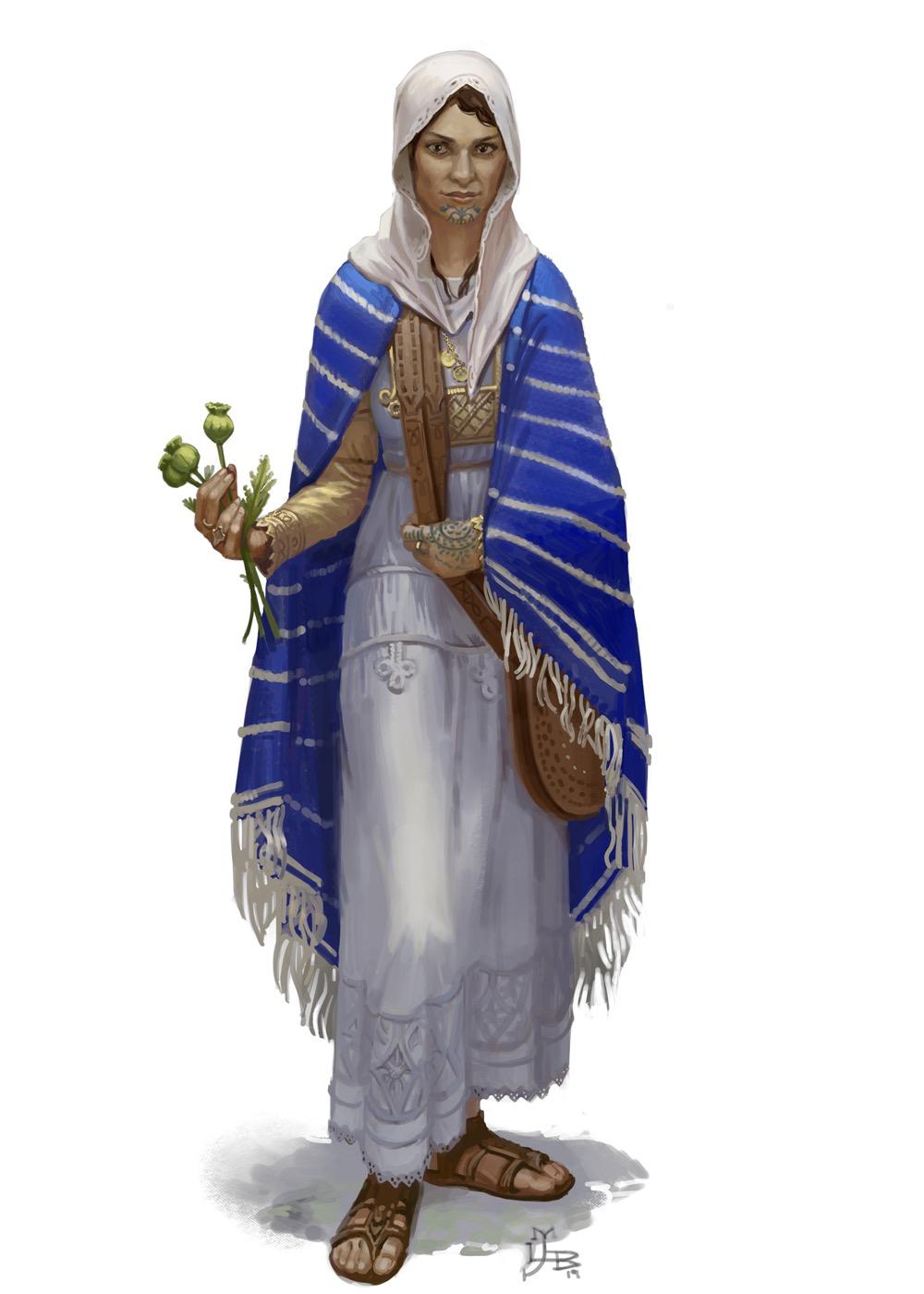 Kassi Aziril, mother of modern medicine.]