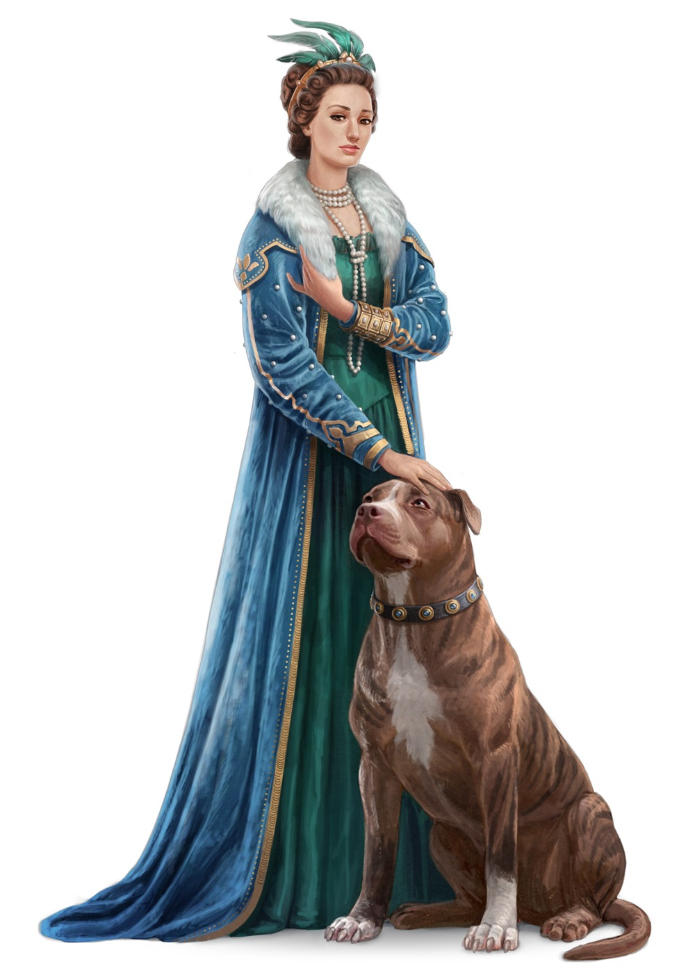 Grand Princess Eutropia, empress of Taldor.