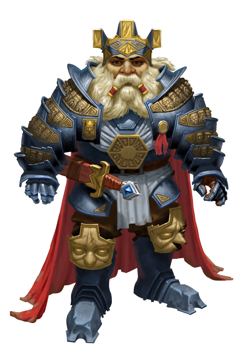 Taargick, legendary first king of the dwarves