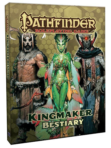 Pathfinder: Kingmaker Bestiary for Pathfinder First Edition 160-page hardcover