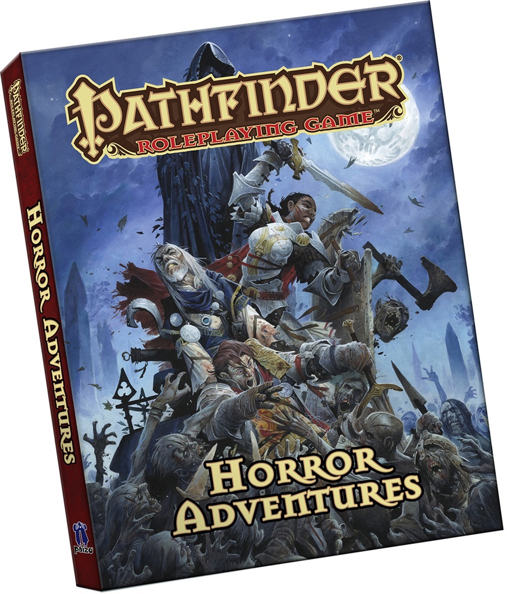 Cover of the Pathfinder Roleplaying Game: Horror Adventures Pocket Edition