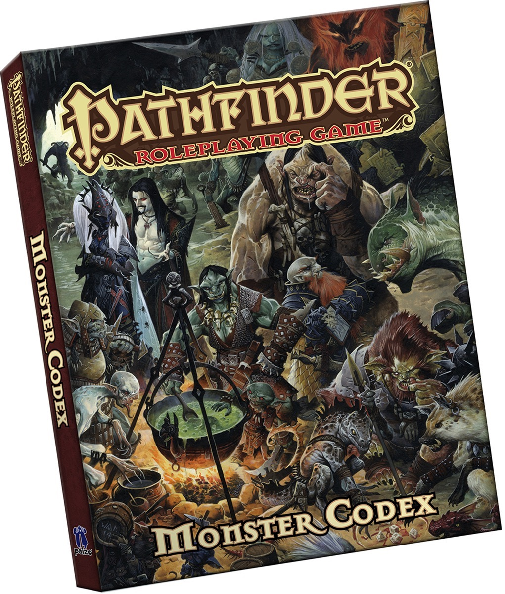 Cover of the Pathfinder Roleplaying Game: Monster Codex Pocket Edition