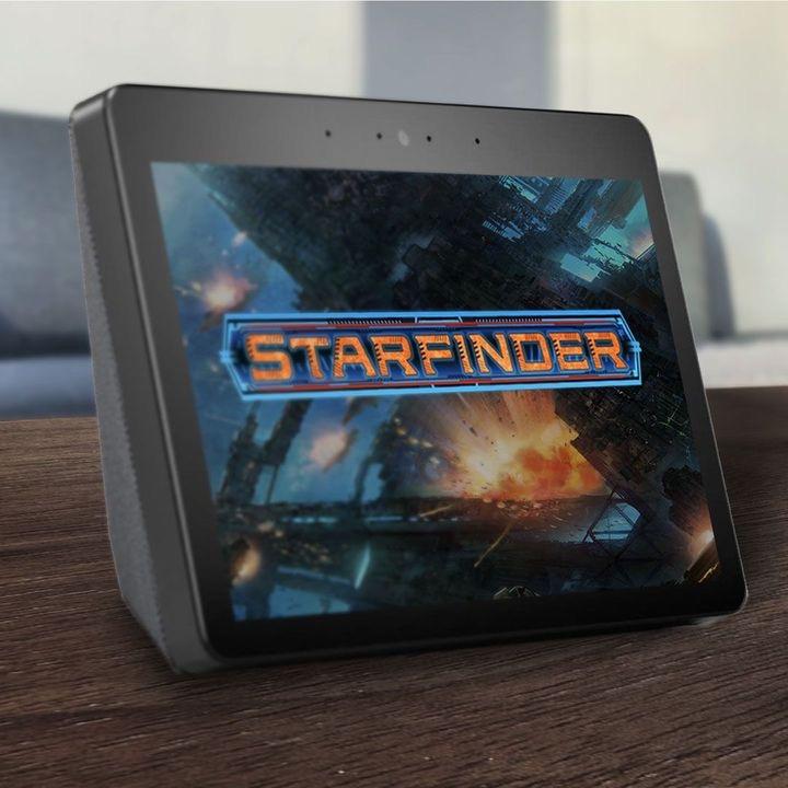 Amazon Alexa Starfinder Promo Image