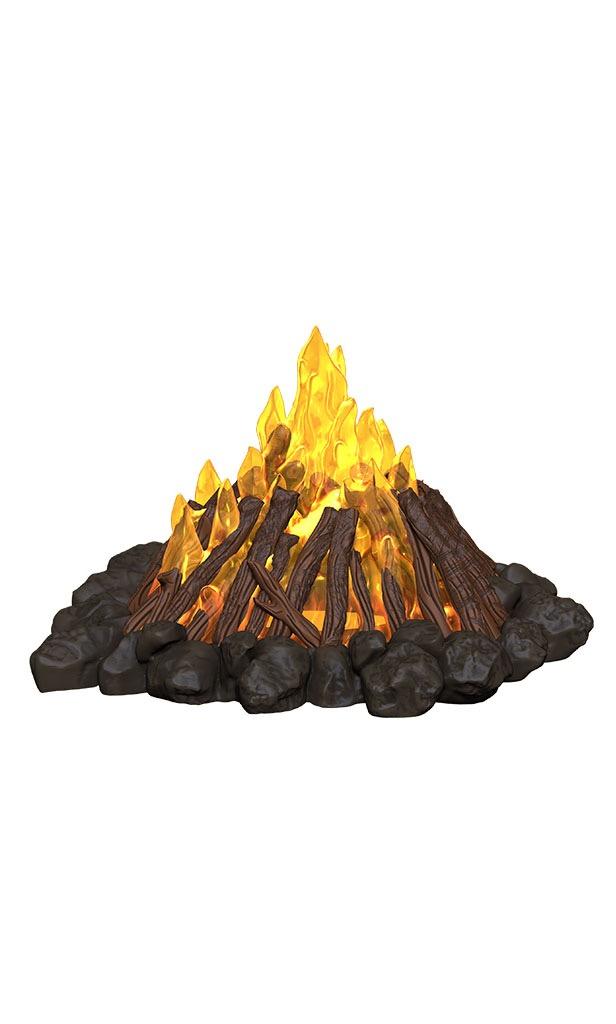 A bonfire!