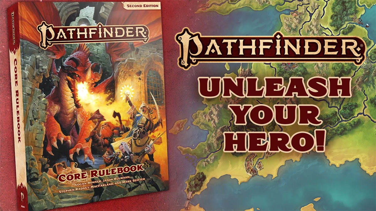Pathfinder Second Edition. Unleash your hero!