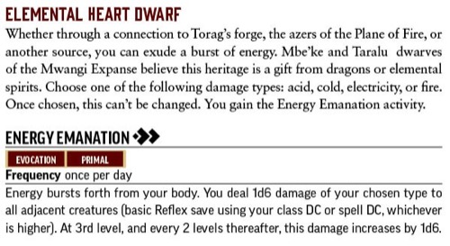 ELEMENTAL HEART DWARF