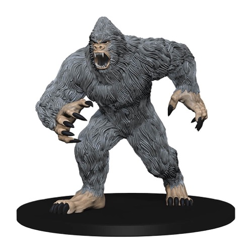 It's a Yeti! Mouth open and snarling!'