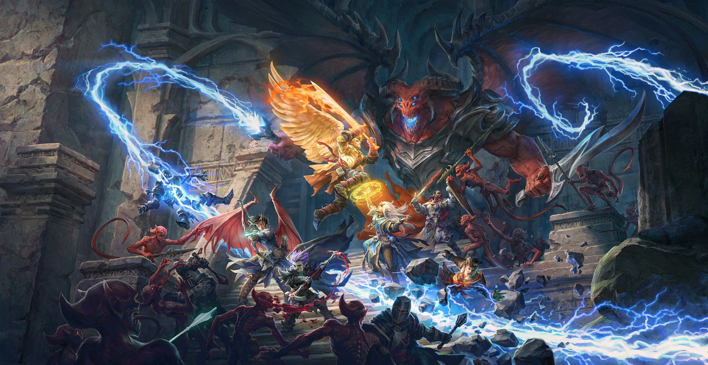 Pathfinder:Wrath of the Righteous keyart
