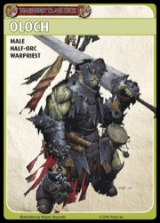 Pathfinder Adventure Card Game: Warpriest Class Deck