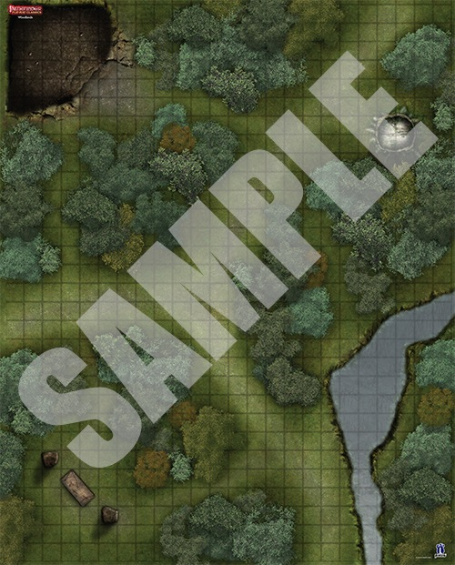 paizo.com - Pathfinder Flip-Mat Classics: Woodlands