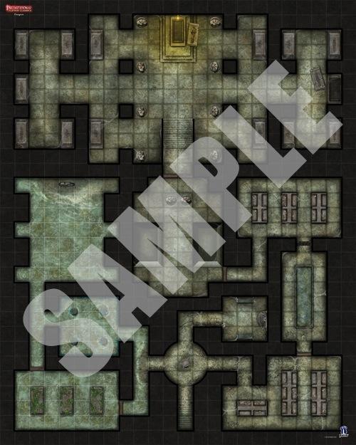 Paizo Com Pathfinder Flip Mat Classics Dungeon