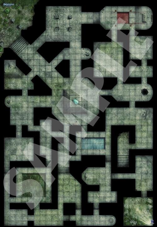 Paizo Com Pathfinder Flip Mat Bigger Dungeon