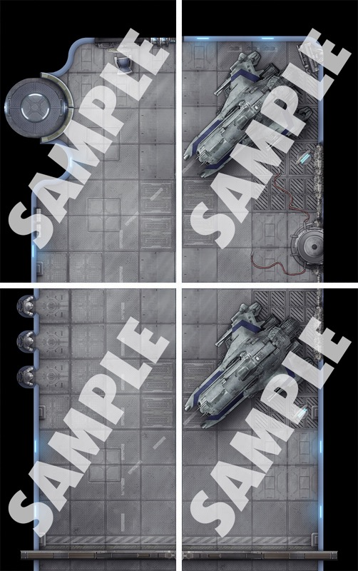 Pathfinder Starship Decks GM Map Pack