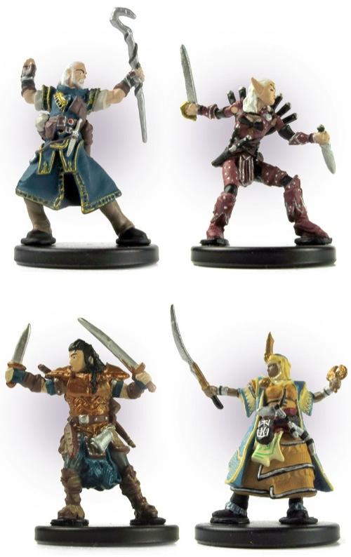 Pathfinder Beginner Box Heroes Miniatures Set
