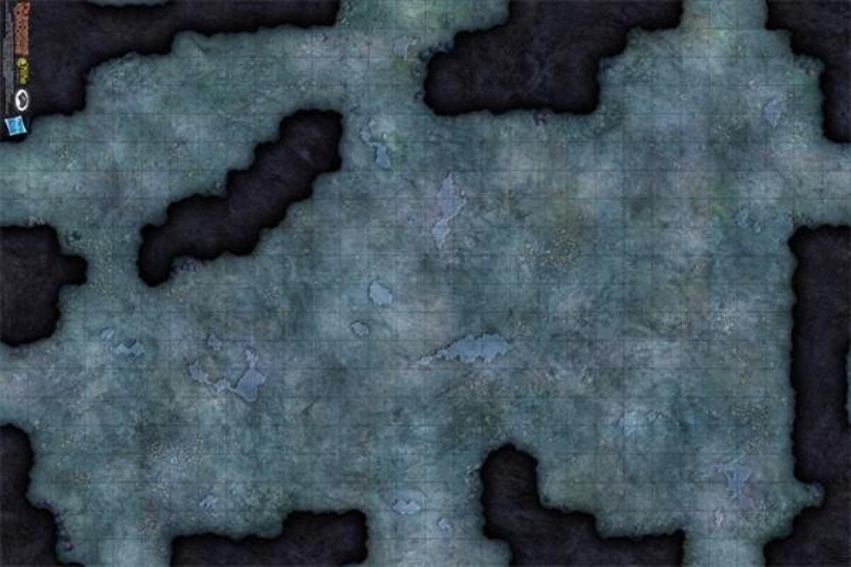 Paizo Com Dungeons Amp Dragons Game Mat Caverns Of The