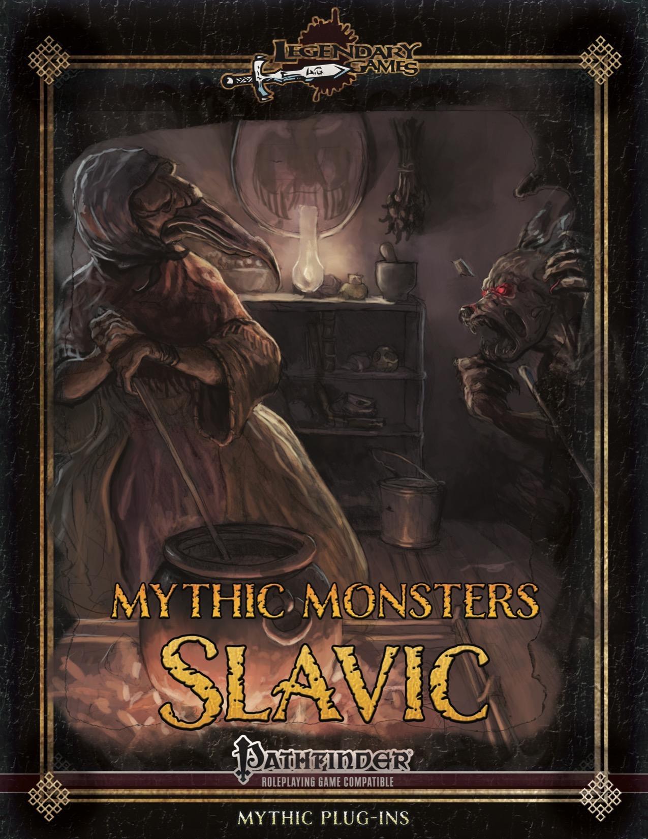 Mythic Monsters 39: Slavic (PFRPG) PDF