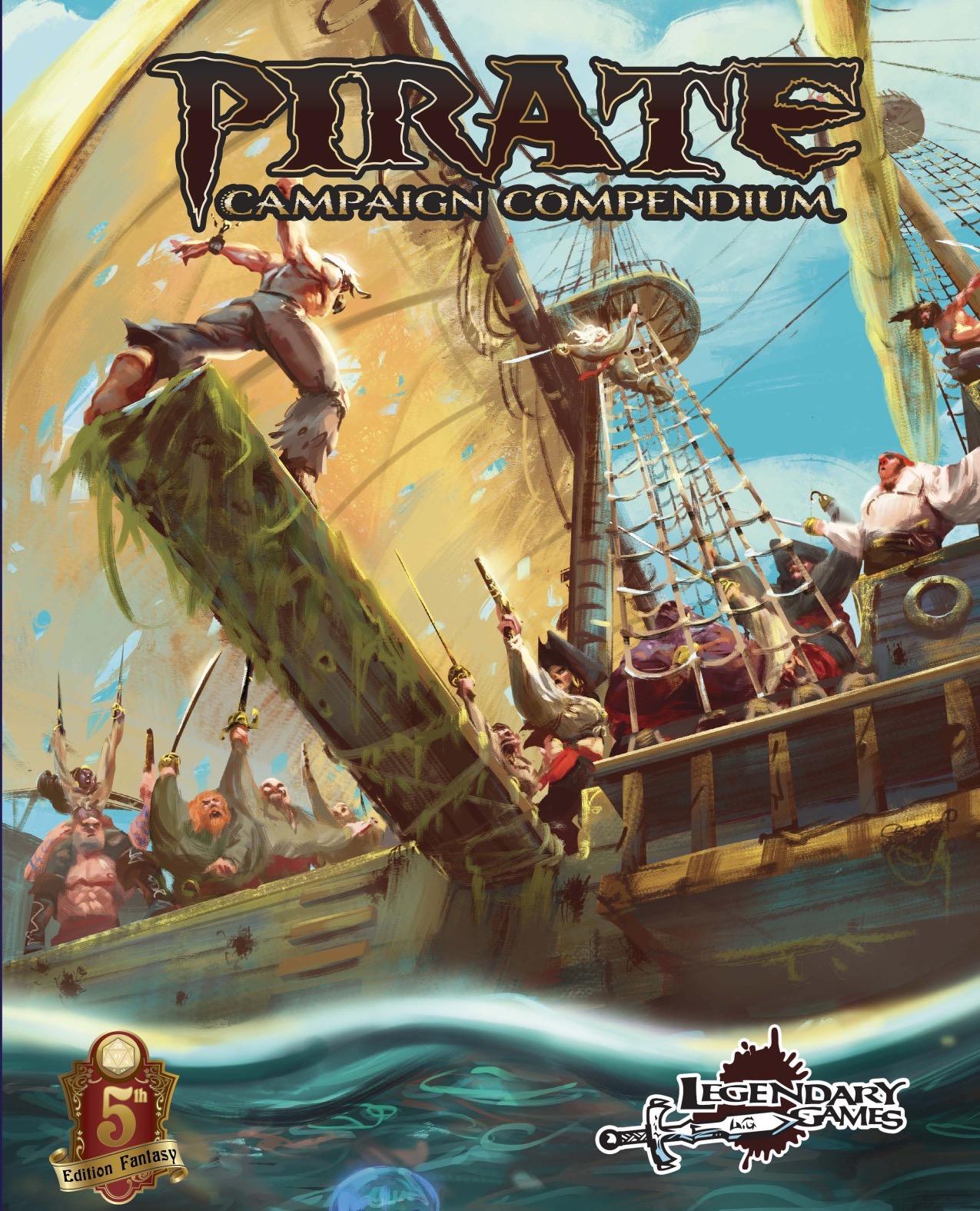paizo com - Pirate Campaign Compendium (5E) PDF