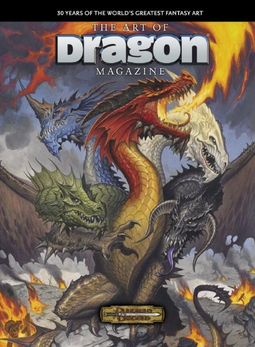 Dungeons Dragons The Art Of Dragon Magazine Hardcover