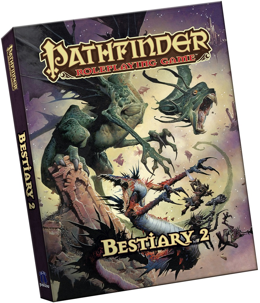 Pathfinder Roleplaying Game: Bestiary 2 (PFRPG) Pocket Edition
