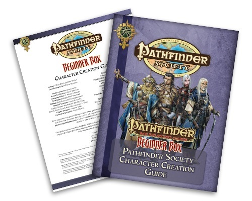 Pathfinder Roleplaying Game: Beginner Box Pathfinder Society Character  Creation Guide PDF