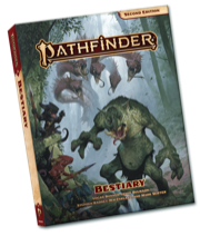 Pathfinder Bestiary Pocket Edition - Paizo Publishing