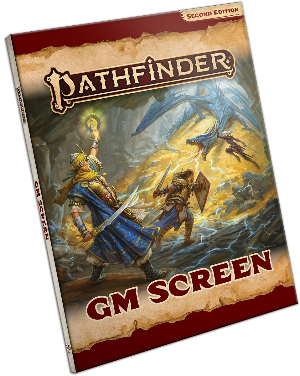 image about Pathfinder Gm Screen Printable named Pathfinder GM Show