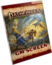 Pathfinder GM Screen: Pathfinder RPG Second Edition -  Paizo Publishing