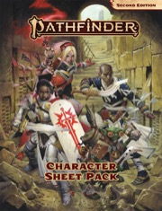 Character Sheet Pack: Pathfinder RPG Second Edition -  Paizo Publishing