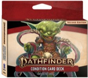 Condition Card Deck: Pathfinder RPG Second Edition -  Paizo Publishing