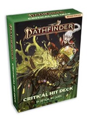 Critical Hit Card Deck: Pathfinder RPG Second Edition -  Paizo Publishing