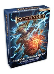 Pathfinder Critical Fumble Deck