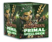 Pathfinder RPG Primal Spell Deck -  Paizo Publishing