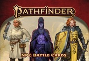 Pathfinder NPC Battle Cards -  Paizo Publishing