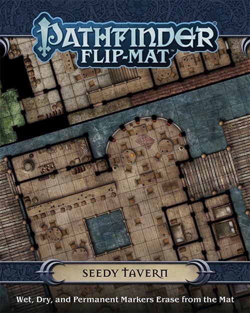 Paizo Com Pathfinder Flip Mat Seedy Tavern