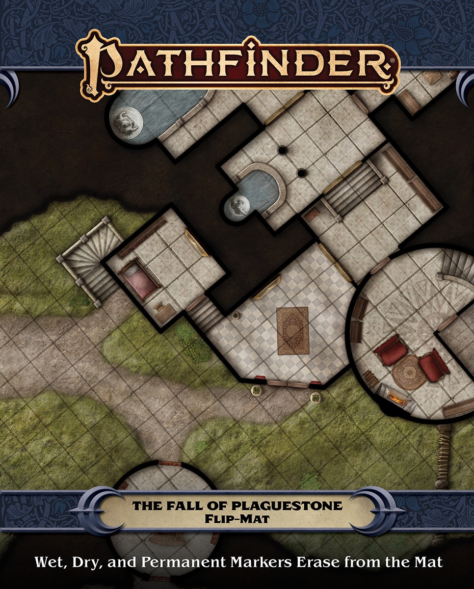 Flip-Mat The Fall of Plaguestone: Pathfinder RPG Second Edition -  Paizo Publishing