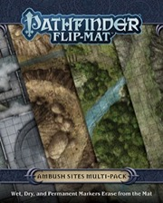 Ambush Sites Multi-Pack: Pathfinder Flip-Mat  -  Paizo Publishing