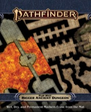 Pathfinder Flip-Mat: Bigger Ancient Dungeon