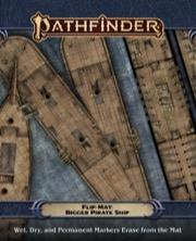 Bigger Pirate Ship Pathfinder Flip-Mat -  Paizo Publishing