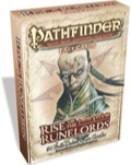 Pathfinder Roleplaying Game: Rise of the Runelords Face Cards