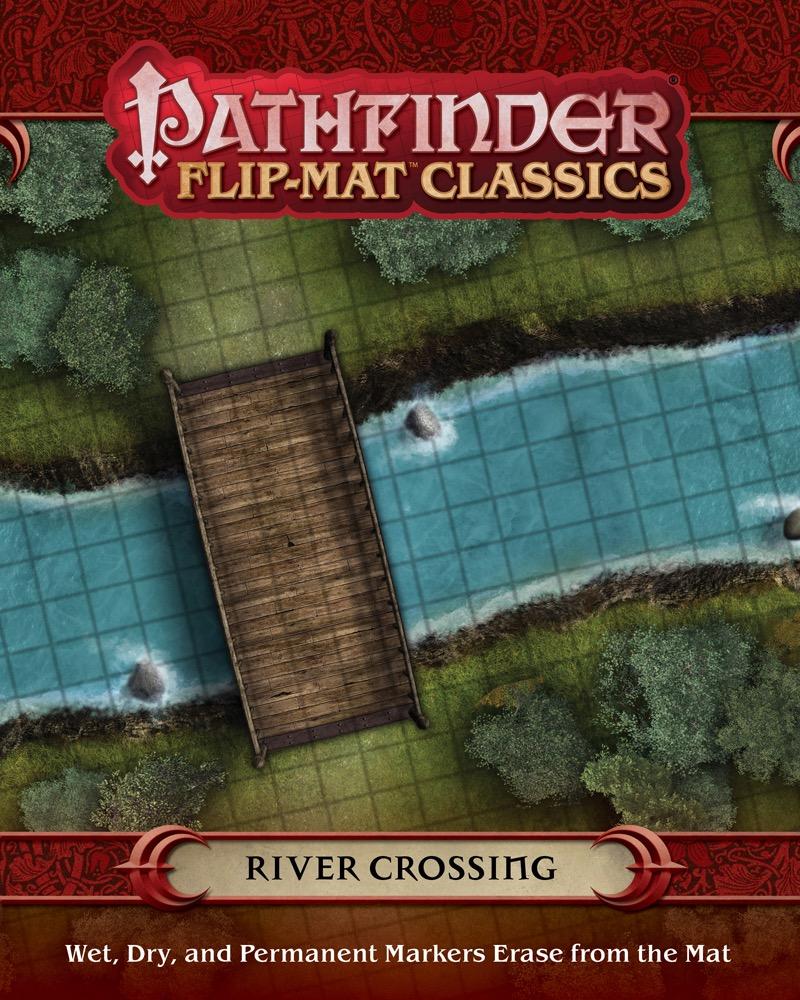 Town Square Flip-Mat Classics PZO31010 Paizo Publishing Pathfinder RPG