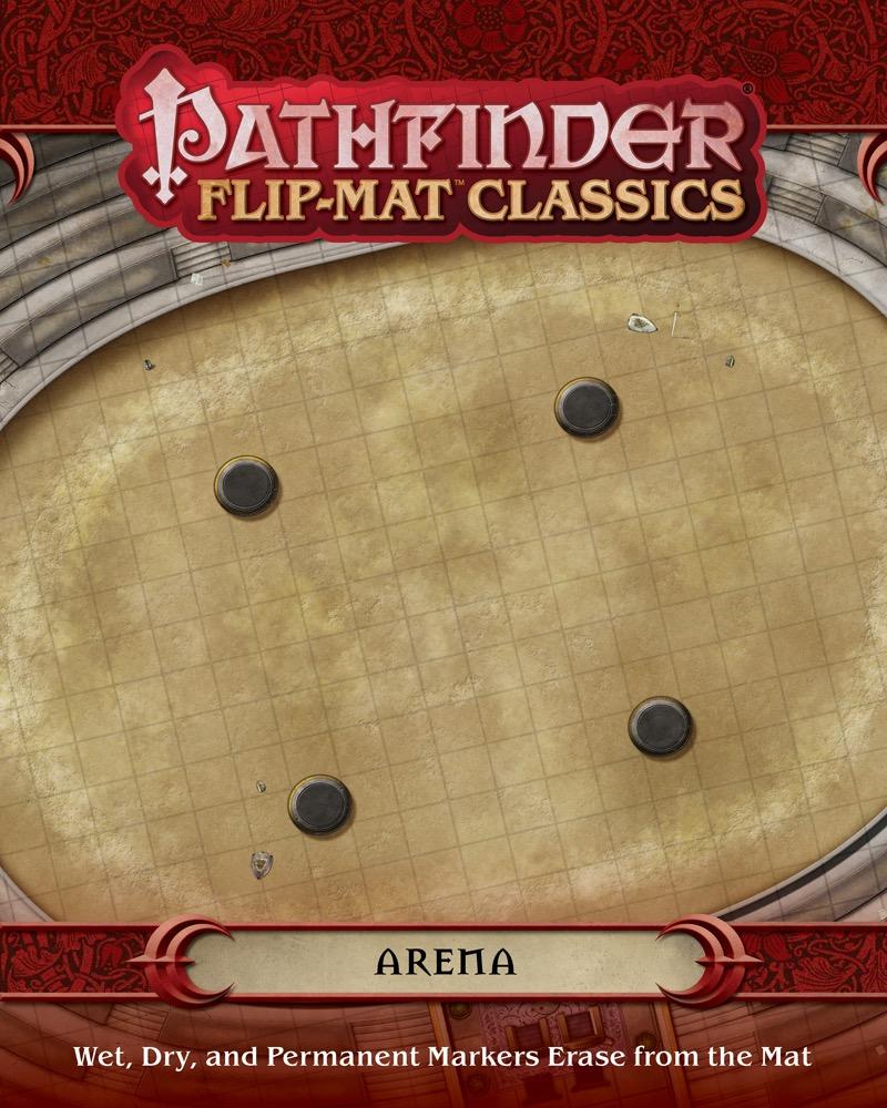 paizo.com - Pathfinder Flip-Mat Classics: Arena