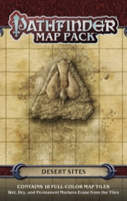 Pathfinder Map Pack: Desert Sites