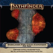 Darklands Fire Caves Pathfinder Flip-Tiles Expansion -  Paizo Publishing