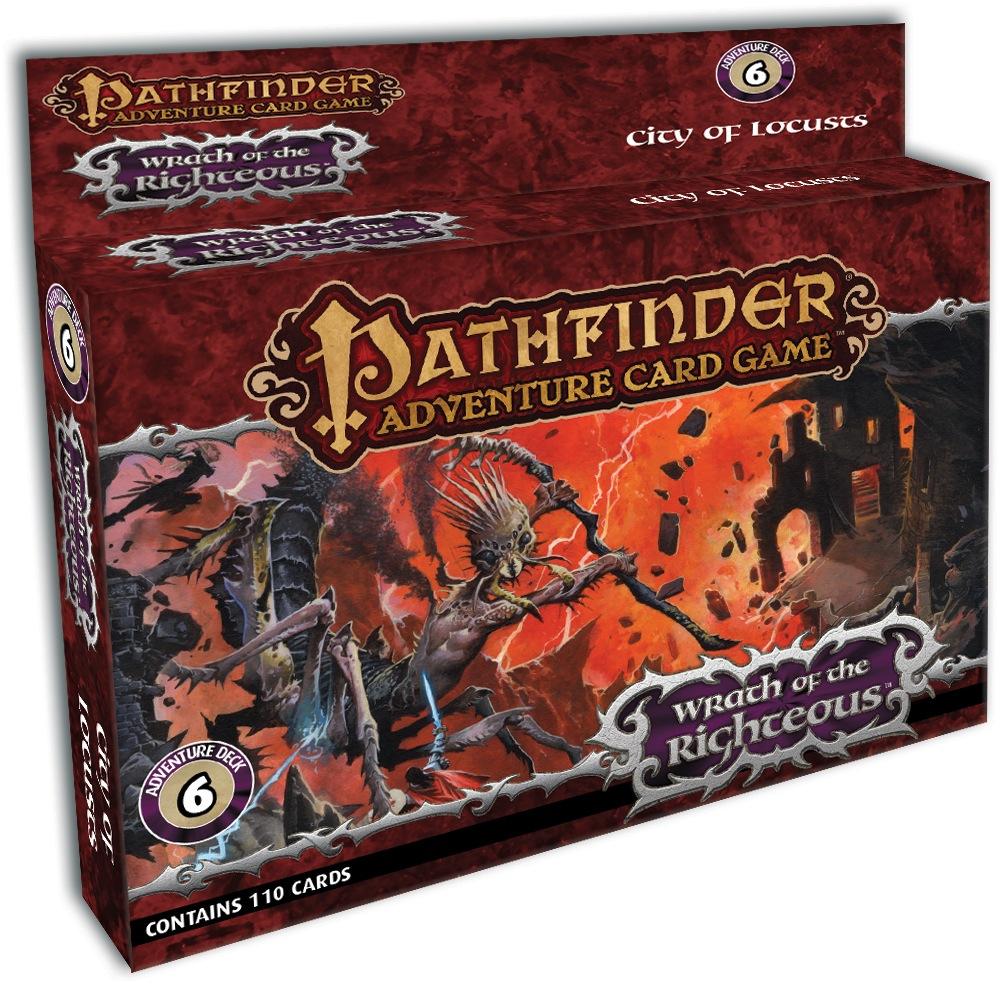 Paizo Com Pathfinder Adventure Card Game City Of Locusts