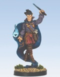 Pathfinder Chronicles Miniatures: Forlorn Elf Wizard