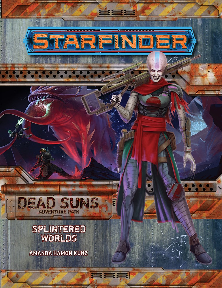 Paizo Starfinder Adventure Path 3 Splintered Worlds Dead