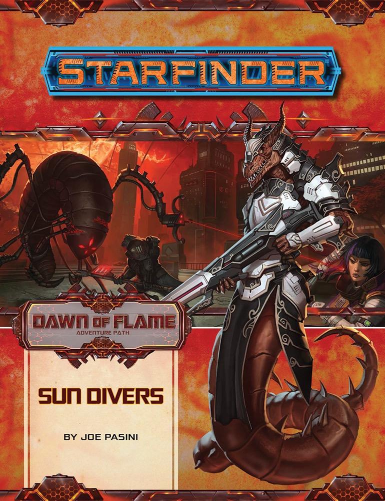 SF AP 015: Dawn of Flame, Part 3: Sun Divers cover art